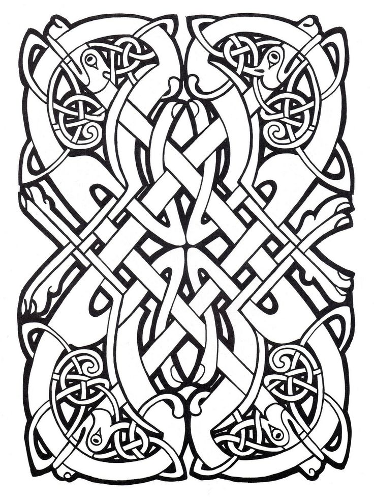 Celtic Design Coloring Page From Art Category Select 25997 Printable Crafts Of Cartoons Nature Animals Bible And Many More