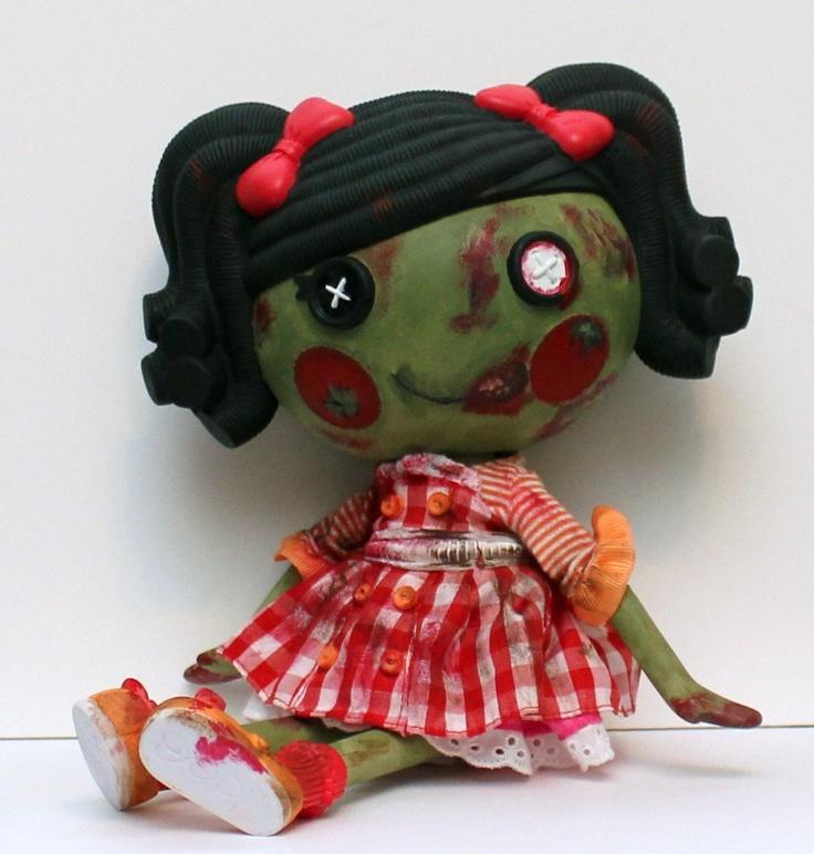 Custom LALALOOPSY ZOMBIE Doll Full Size. $85.00, via Etsy.