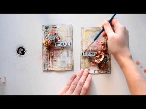 Cards Tutorial by Elena Morgun - YouTube