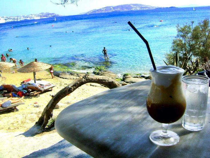 #coffee #relaxing #Mykonos