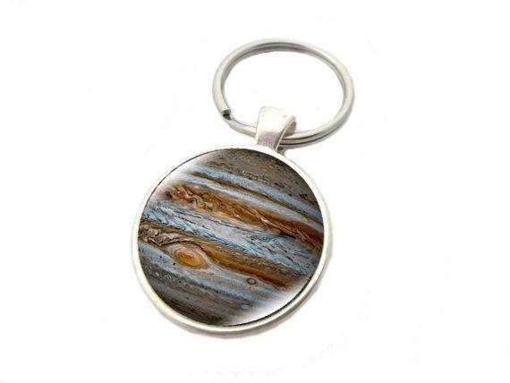 llavero planeta júpiter. llavero planetario. galaxia por yotoko