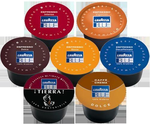 500 capsule lavazza blue a scelta 11501 - Prezzo