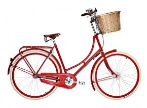 Studenine Woman's Red Bicycle