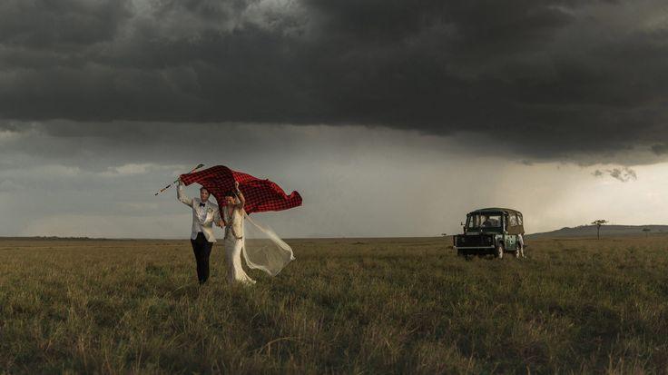 Nina and Sebastian ~ Masai Mara