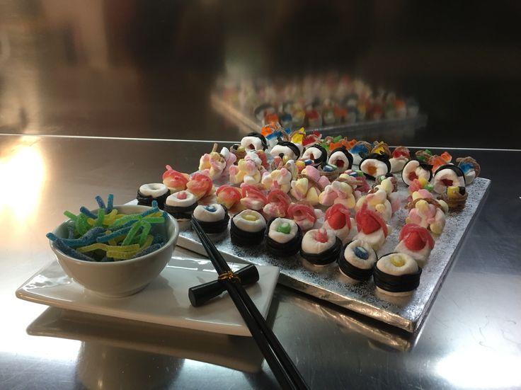 Sushi di caramelle