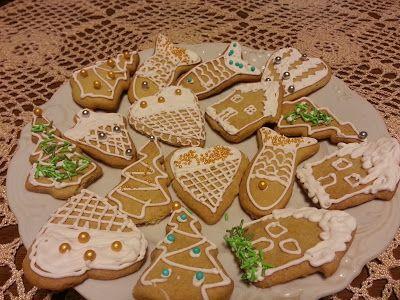 Papierowo zakręcona    : Ciasteczka lukrowane