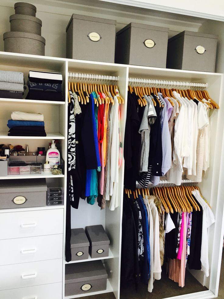 Teenage Girls Walk In Wardrobe Closet, Organised U0026 Styled By Us.  Inthecloset_styling #organiseyourkids