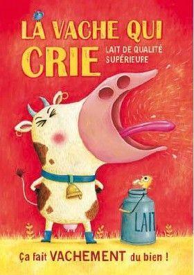 Carte Postale - La vache qui crie
