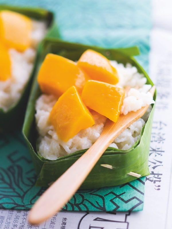 Thai Mango Sticky Rice ข้าวเหนียวมะม่วง