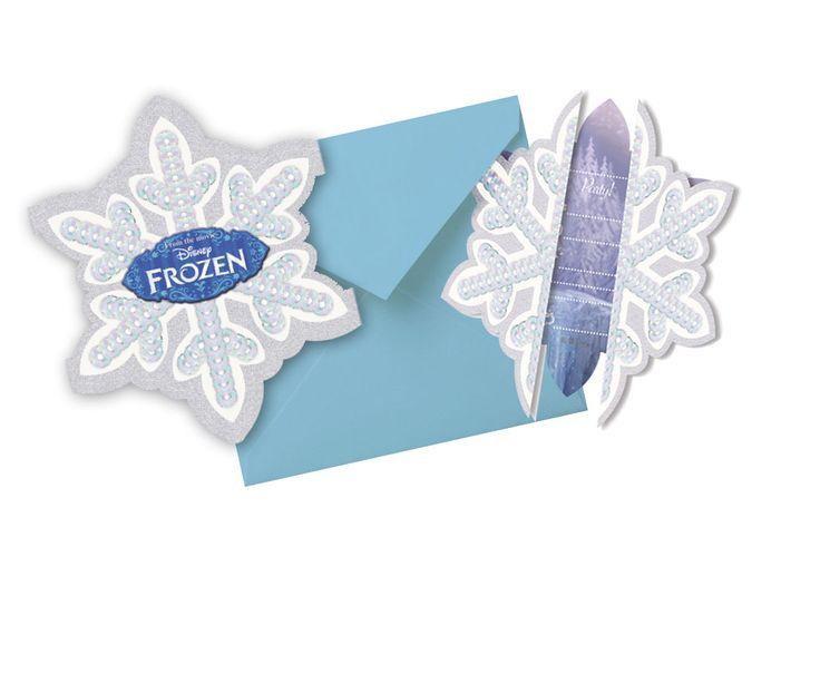Frozen Ice Skating pozvánky 6ks | BALONKY .CZ