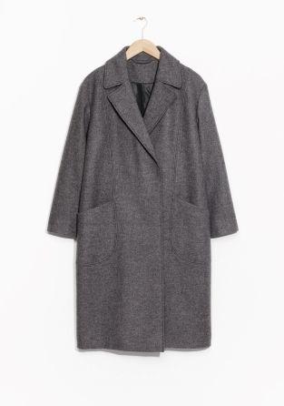 & Other Stories | Oversized Wool Coat | STRIKE magazin