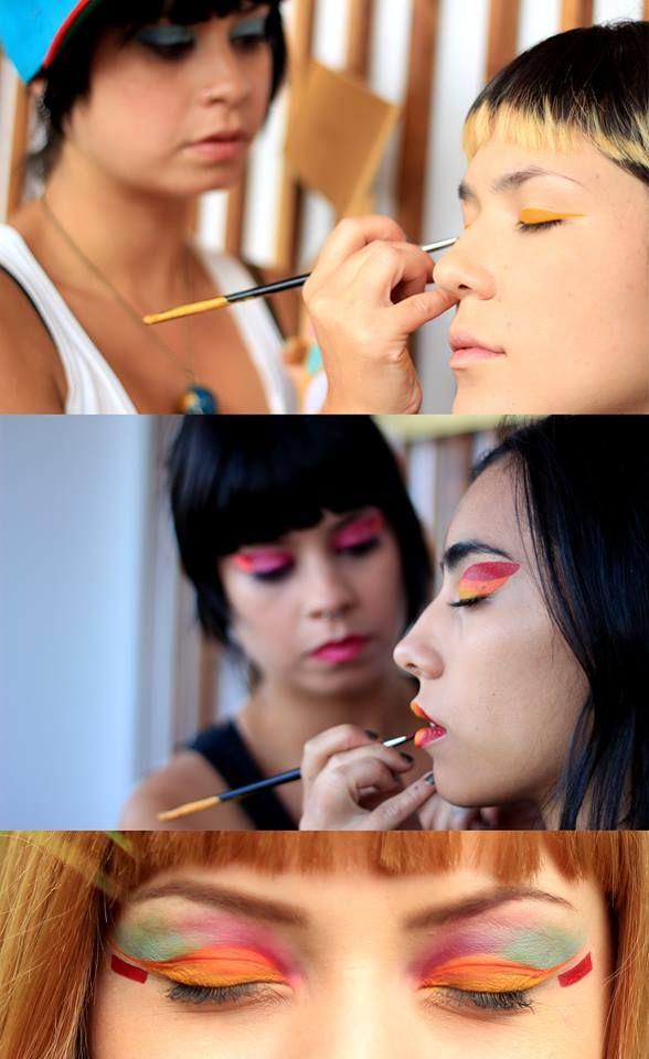 """LEDANIA maquillando con la nueva paleta """"RUSTIKA"""""""