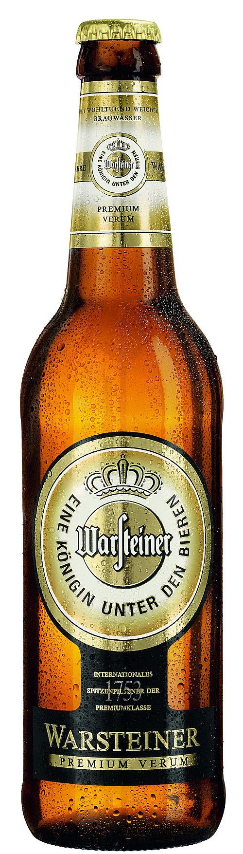 Warsteiner is een B-merk omdat het minder bekend is dan de A-merken en er minder reclame voor wordt gemaakt