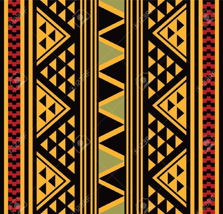 Teste Padrão Africano Royalty Free Cliparts, Vetores, E Ilustrações Stock. Image 18523228.