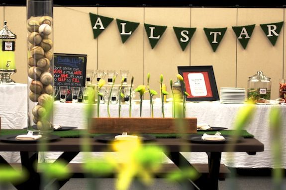 Teacher Appreciation Luncheon ~ Baseball Theme! Home Run! • Taste With The Eyes • where the image is meant to titillate and inspire the cook