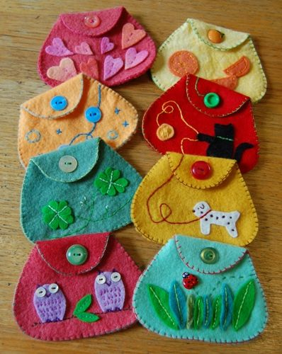 easy felt craft ideas 25 best ideas about felt purse on felt pouch 4354