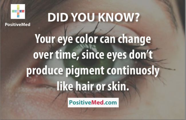 This happened to me, my eyes were blue until I was one then they changed to green with hints of brown in the middle