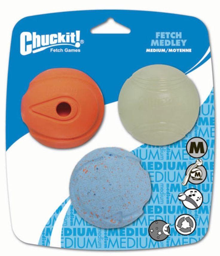 Chuckit Medley ballsett - Hundeleker - Hund