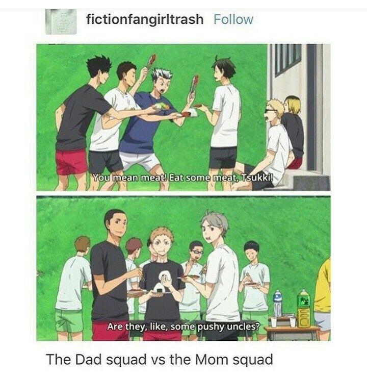 Haikyuu!! | Dad vs. Mom Squad