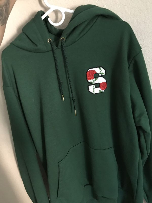 Supplied company green hoodie for Sale in Fresno, CA