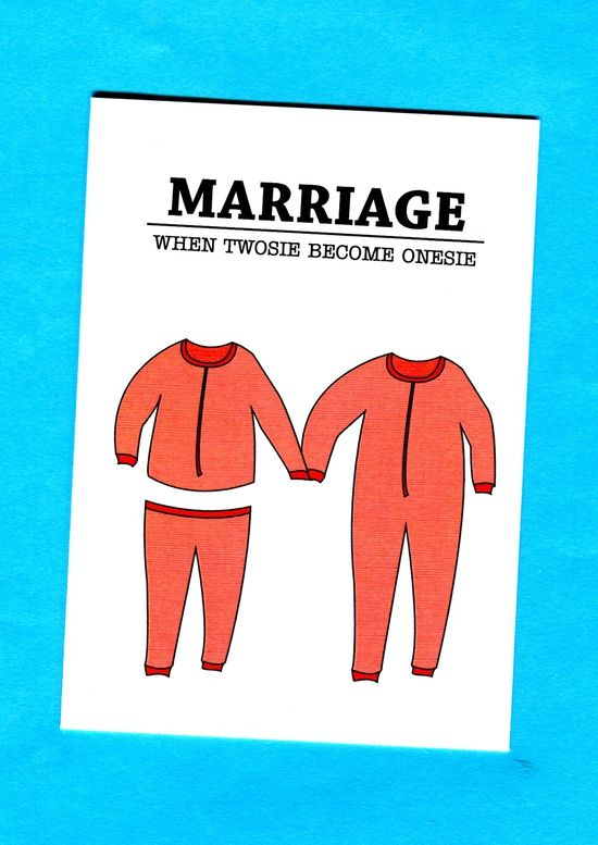 Things by Bean - Marriage: When Twosie Become Onesie, $5.95 (http://www.thingsbybean.com/marriage-when-twosie-become-onesie/)