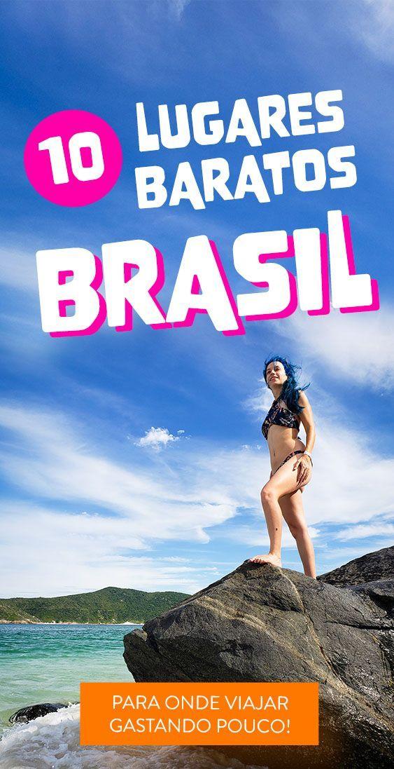 Confira a lista de lugares incríveis no Brasil e que custam pouco!  #viajarbara…