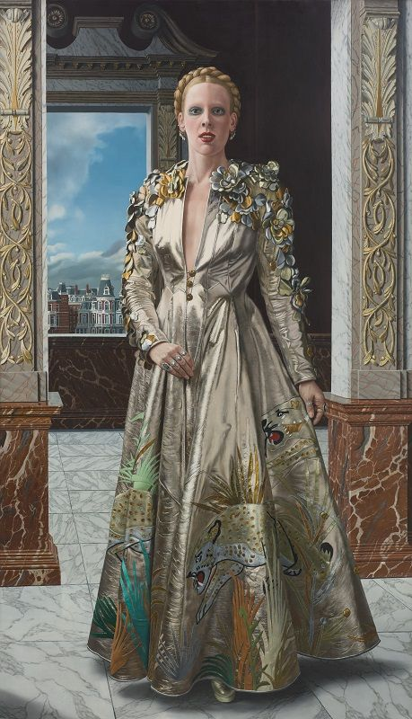 Carel willink afscheid van mathilde 1975 collectie museum more sylvia willink qui l - Mathilde ontwerp ...