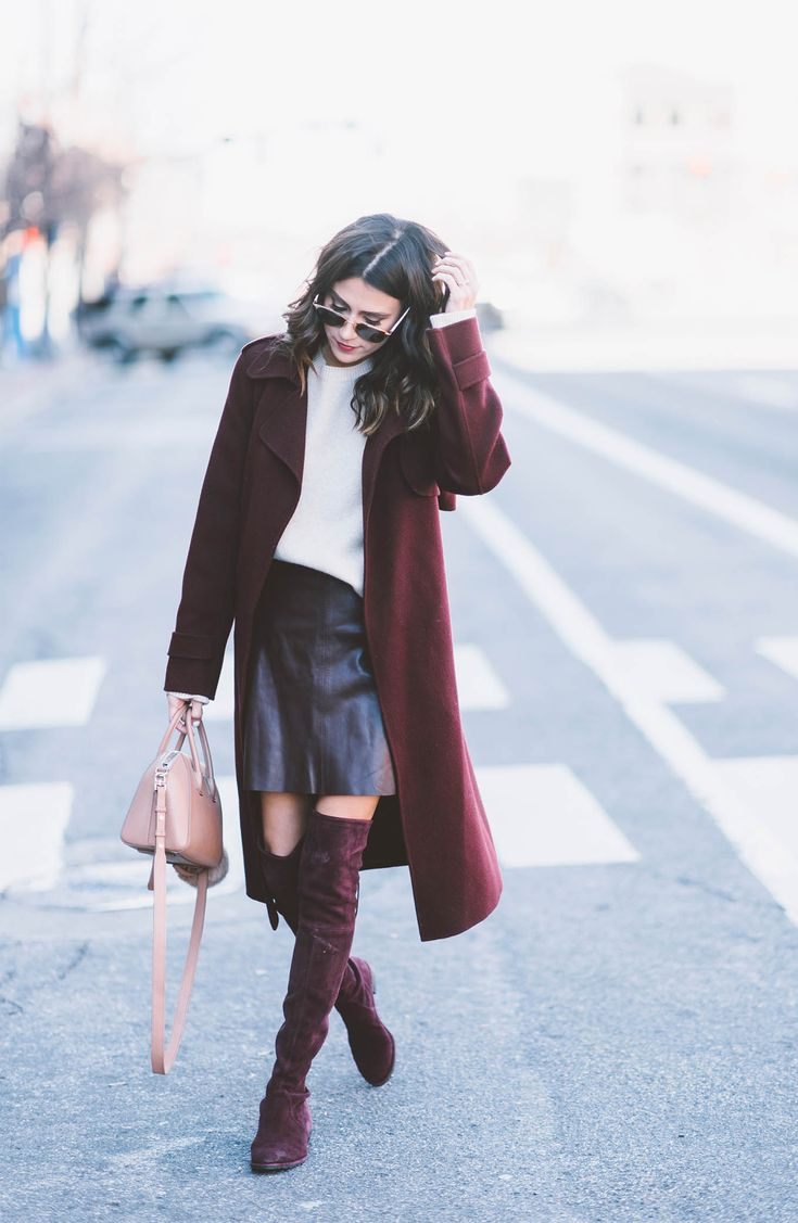 132 best Over the Knee Boots Outfit Ideas images on Pinterest ...
