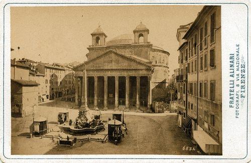 The Pantheon, Rome 1880 (ca)