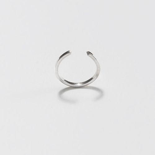 Jessie Harris Silver Slim Open Point Ring