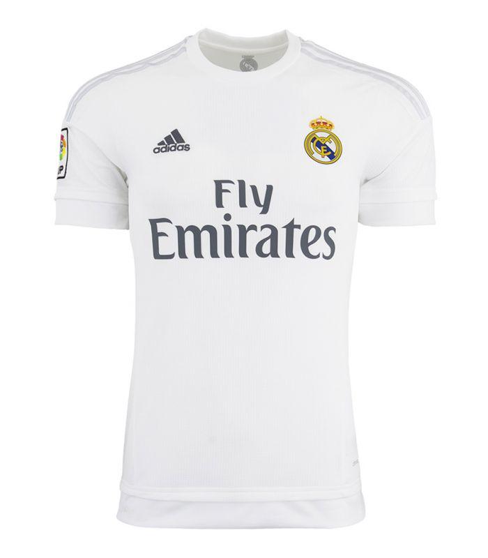 Camiseta Real Madrid 2015-2016 Local Adidas Hombre Futbol Comprar Ahora
