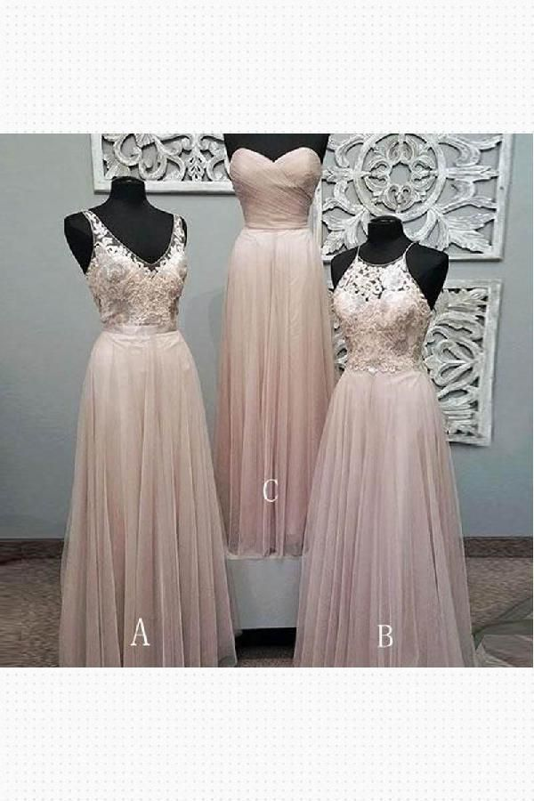 bae3578862c Outlet Cute Pink Bridesmaid Dresses