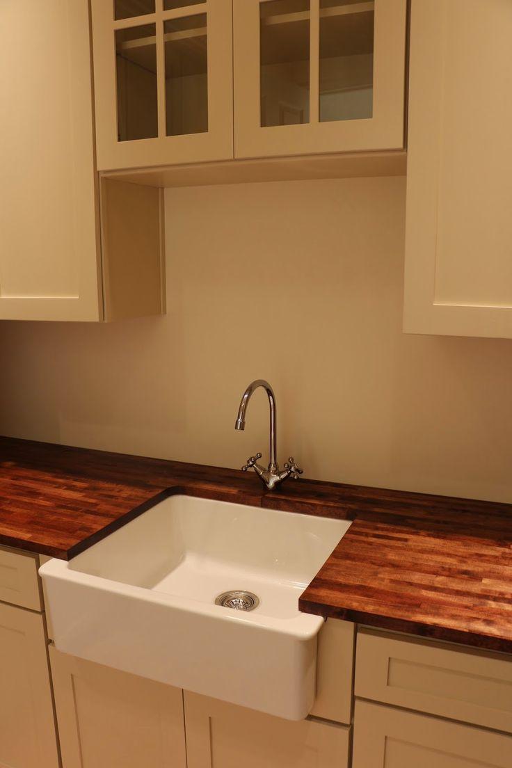 Domsjo Sink Farmhouse Sink Wood Countertops Varde