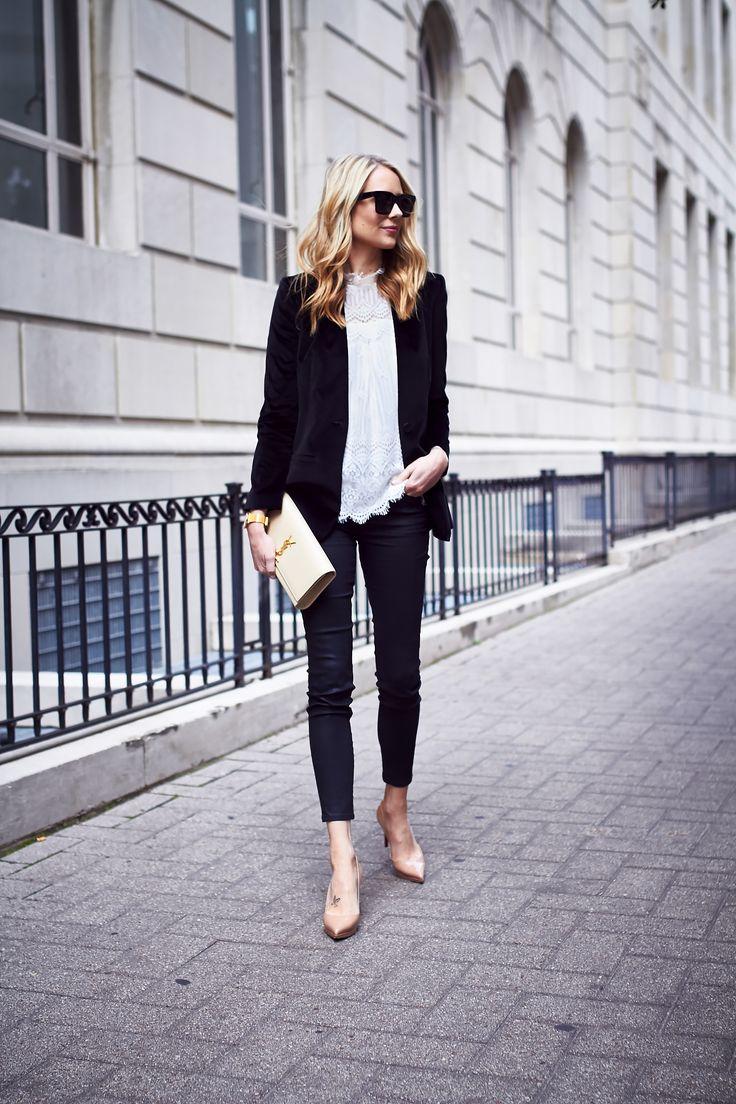 excellent black velvet jeans for women