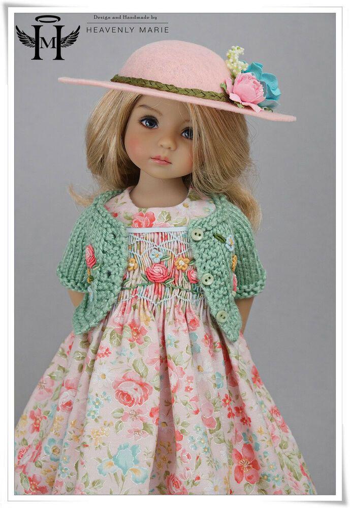 "Effner 13/"" Little Darling Wardrobe PATTERN Hat Pants Skirt Tops"