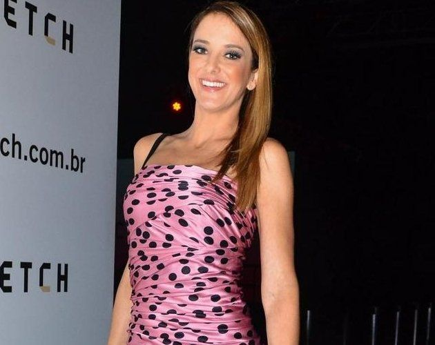The presenter Ticiane Pinheiro.  Photo Caio Duran / AgNews