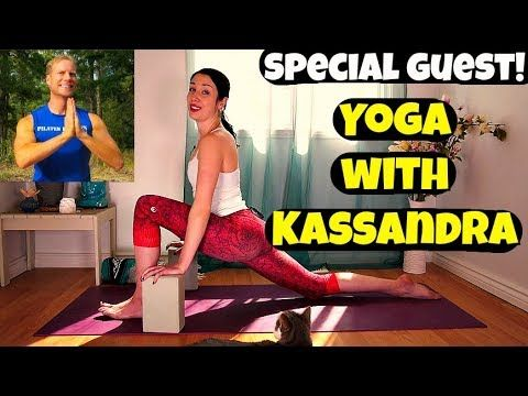 yin yoga class  special guest yoga with kassandra  30