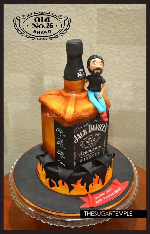 Jack Daniels Icing Cake Topper
