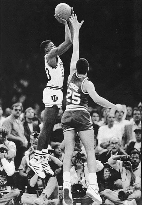 Indiana University Basketball Keith Smart