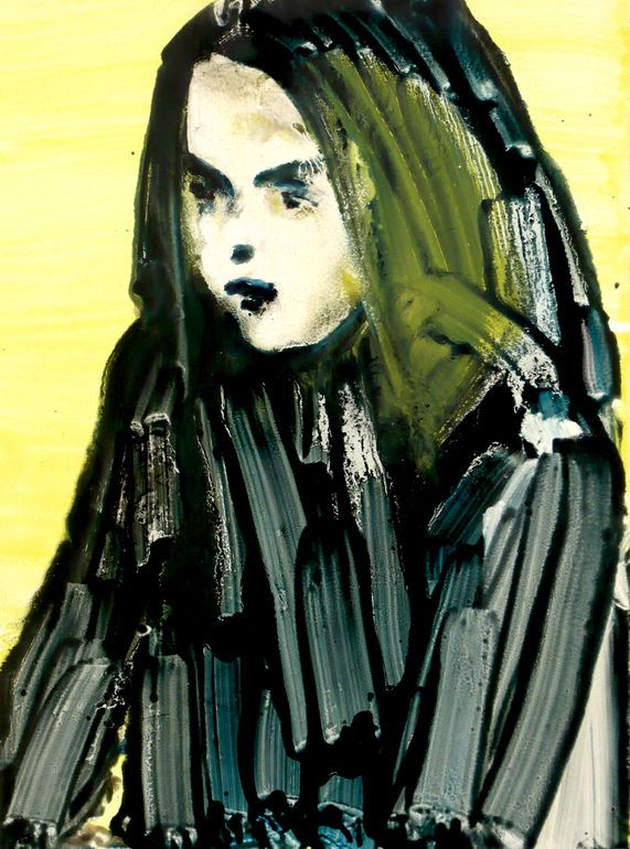 """Saatchi Art Artist: Ilona Szalay; Oil 2013 Painting """"Child"""""""