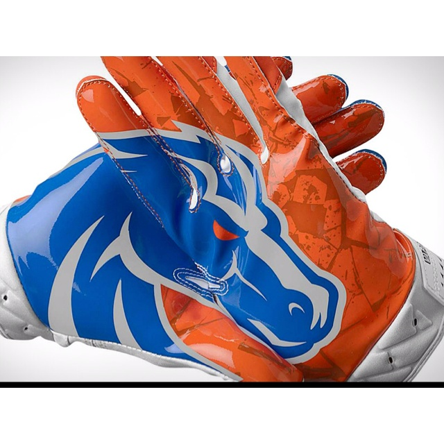 0837779286c Cheap blue and orange football gloves Buy Online  OFF49% Discounted