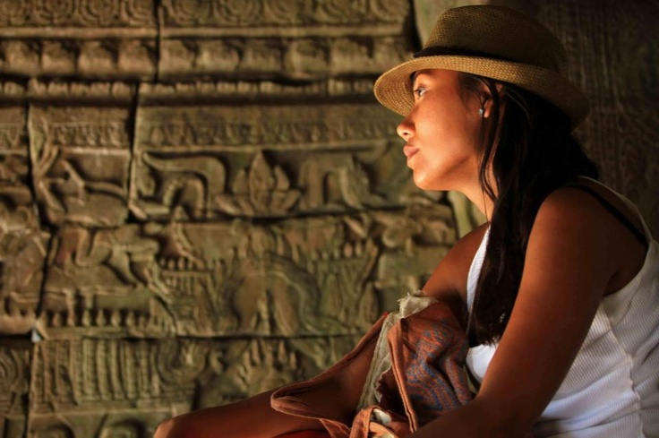 #Dream #Travel #Angkor Wat #ruins www.valerieparisius.com photography Daniel Harumi Hirata