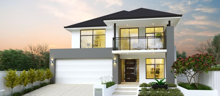 The Hamersley | Two Storey Home Design | Webb & Brown-Neaves 12m frontage block