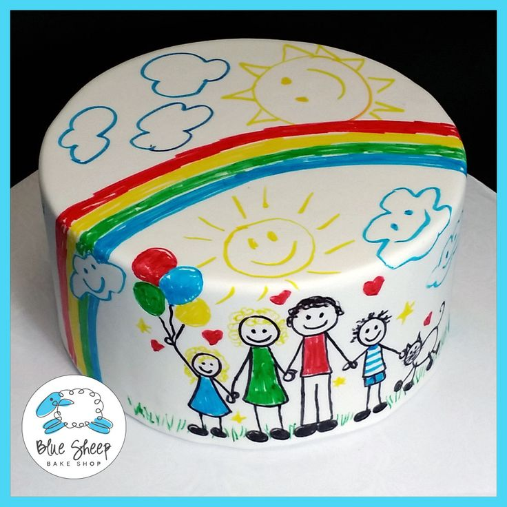 Mother's Day DIY Fondant Cake & Edible Marker Set (PREORDER PRICE!) – Blue Sheep Bake Shop Order online now ! http://bluesheepbakeshop.myshopify.com/products/mothers-day-diy-cake?sfb_refer=true