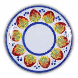 Heavy duty Melamine with Italian pattern and perfect for outdoor dining!  sc 1 st  Pinterest & 11 best \u2022 Unbreakable Dinner Plates \u2022 images on Pinterest | Dinner ...
