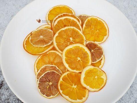 Portocale si lamai deshidratate