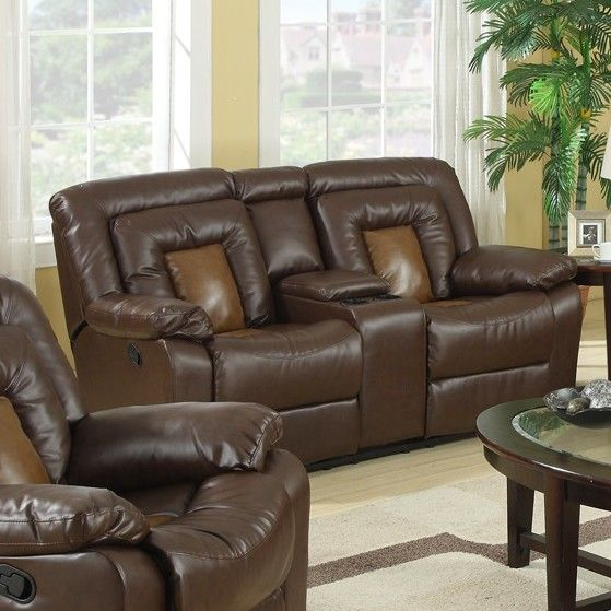 Kmax 2-Toned Vinyl Dual Reclining Loveseat & Best 25+ Dual reclining loveseat ideas on Pinterest | Leather ... islam-shia.org