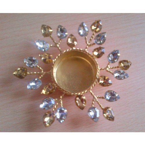 Decorative crystal diya - Online Shopping for Diyas and Lights by SMARTMARTSHOPPEE