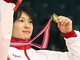 kohei uchimura! Yay I'm proud of him, gold in men's all-around