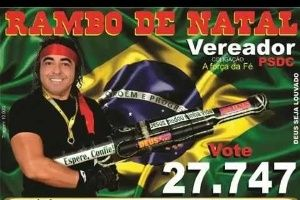 Mulher Vulcão, Rambo, Tiririca Cover: veja os nomes diferentões da eleição